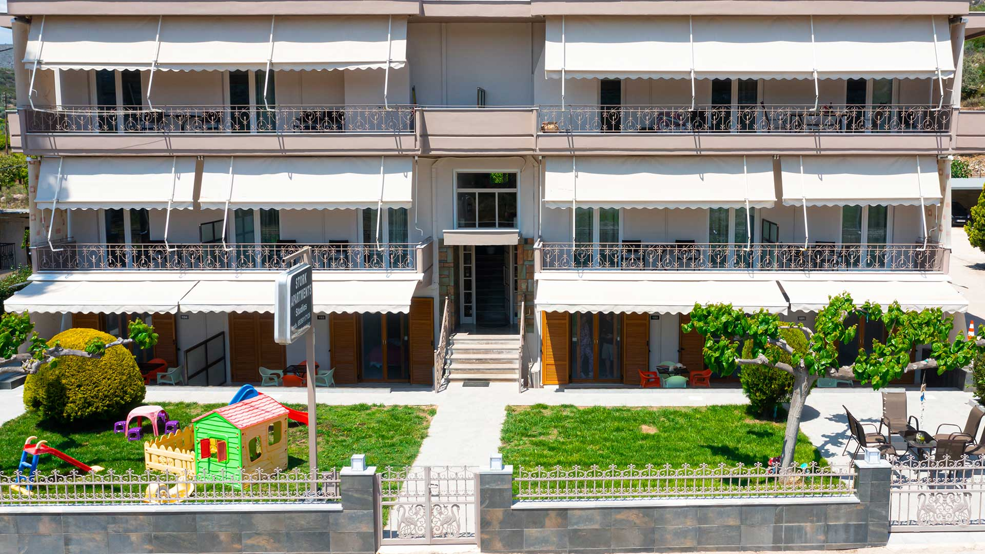 Accommodation with garden Nafplio