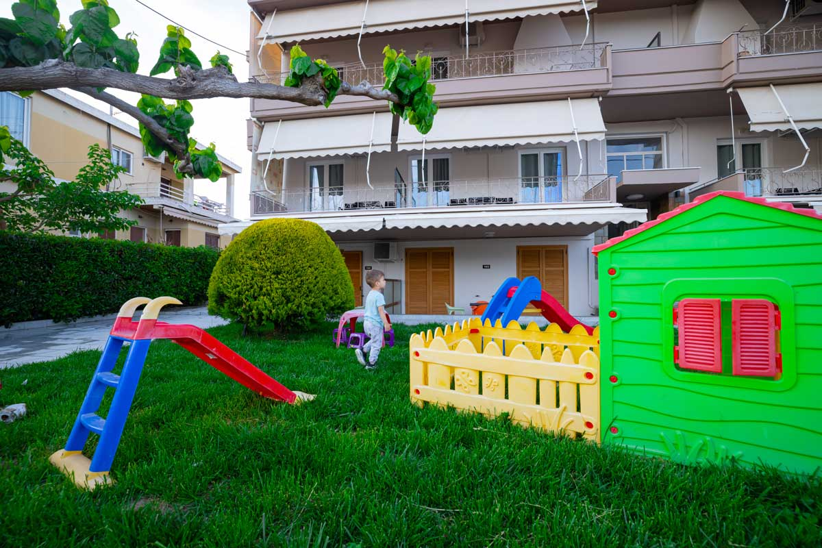 Apartment with Playground